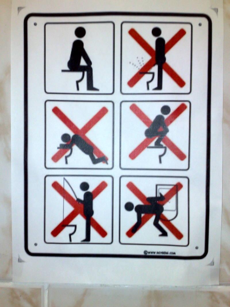 инструкция пользования туалетом видео прикол